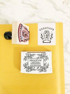 logo rubber stamp