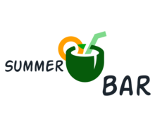 Summer Bar Logaster Logo