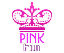 Pink Crown Logaster Logo