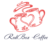 Red Box Coffee Logaster logo