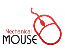 Mechanical Mouse Logaster Logo