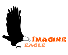 Imagine Eagle Logaster logo