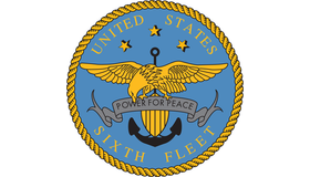 united states vsixth fleet Logo