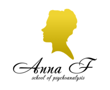 Anna F Psychology Logaster Logo
