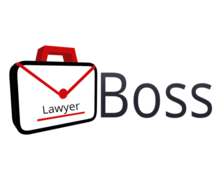 Boss Lawyer Logaster Logo