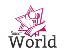 Sweet World Logaster Logo